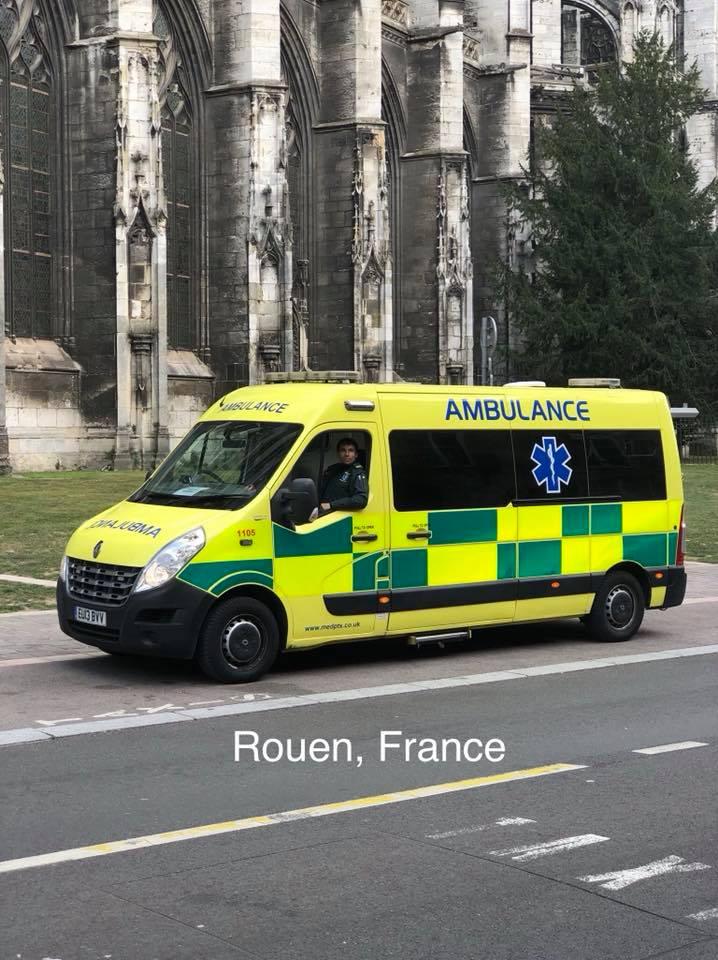 Medical repats france to UK
