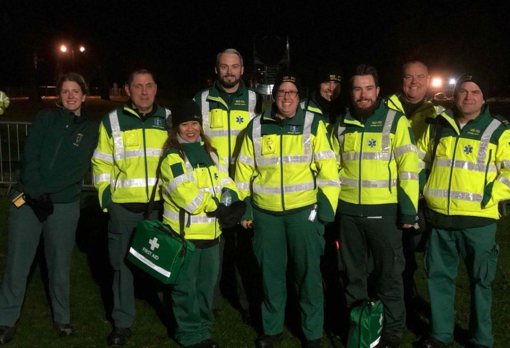 private ambulance uk team